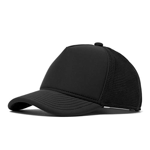 melin Men's Marksman Neoprene Snapback Trucker Hat One Size Black