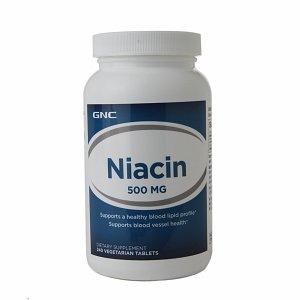 GNC niacine 500 mg, Vegetarian