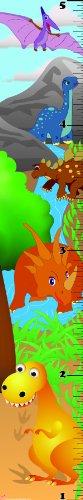 Mona Melisa Designs No Name Growth Chart, Dinosaur - Kid Drawn Charts