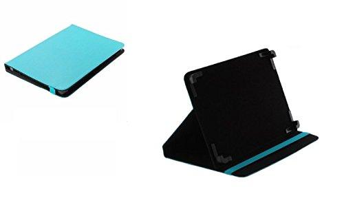 Bookstyle Tablet PC Tasche Etui Hülle Book Case hell-blau mit Aufstellfunktion passend für Lenovo Tab 2 A10-70