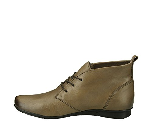 Footwear Bootie Taupe Almond Grain Taos Full Leather Women's Toe Robin dXxSq
