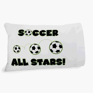 - Autograph Soccer Pillowcase