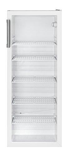 Bomann KSG 235 Flaschenkühlschrank / 142 cm Höhe / 212 kWh/Jahr / 247 Liter Kühlteil / den gewerblichen Gebrauch geeignet