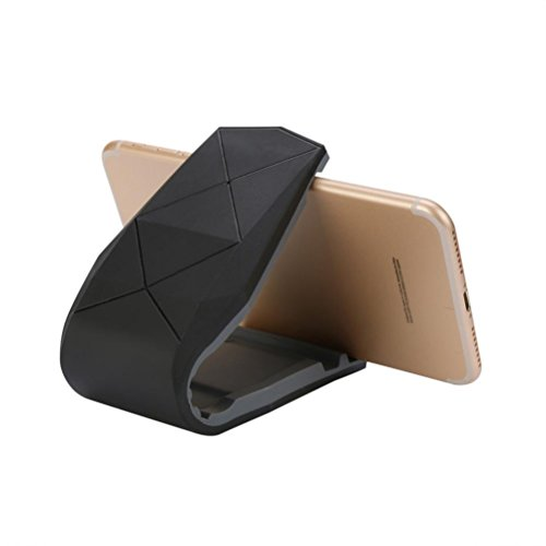 GBSELL Universal Car Smart Phone Holder Mount GPS Stand Non-slip For iPhone (Black)
