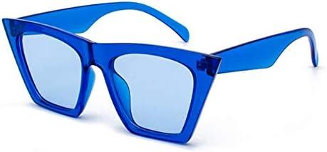 ZJIEJ Lunettes de Soleil Sunglasses Square GlassesPersonalized Colorful Sunglasses Trend Versatile Sunglasses Uv400