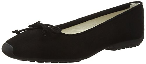 Ballerine French black Sole Nubuck Donna Black Gabi wwPSpqI