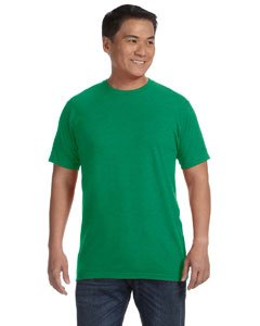 Anvil 450 Eco-Friendly Adult Sustainable Tee - Heather Green44; 2XL