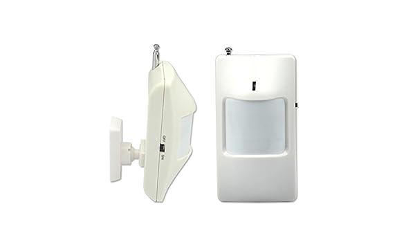 Generic Wireless Sensor PIR detector de movimiento/para Wireless GSM/PSTN Auto Dial sistema de alarma seguridad para el hogar: Amazon.es: Iluminación