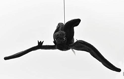 Hansa Hanging Bat Plush, Black ()