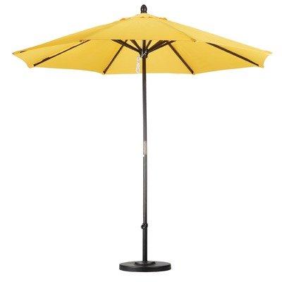 Deluxe Market Umbrella in Yellow
