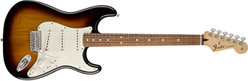 Fender 6 String Standard Stratocaster Electric Guitar-PAU Ferro Fingerboard, Brown Sunburst (144603532) ()
