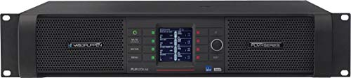 Lab Gruppen Amplifier with 4 Flexible Output Channels on Binding Post Connectors Lake Digital Signal Processing and Digital Audio Networking (PLM20K44BPU)