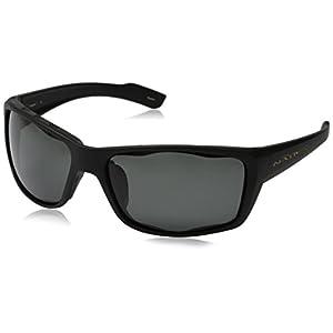Native Eyewear Wazee Sunglasses, Gray Lens/Matte Black Frame