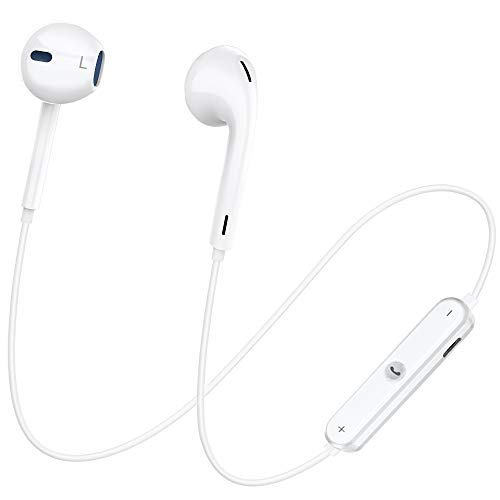 Bluetooth Headphones, Dostyle Wireless Headphones Bluetooth V4.1 Earbuds with Mic Stereo Earphones Noise Cancelling Sweatproof Sports Headset Compatible for Samsung Galaxy and Others Bluetooth Device