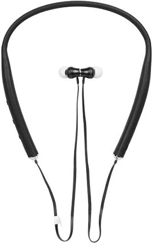 Toshiba Neckband Bluetooth Headphones | Wireless Bluetooth Earbuds | Bluetooth Neckband Headset w/Deep Base | 65FT Working Range | Water/Sweat Resistant | 8-10 Hours Music & Talk Time | RZE-BT600E(Okay)