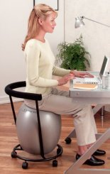 Ergo Ball Exercise Wii Erogonomic  Office Chair