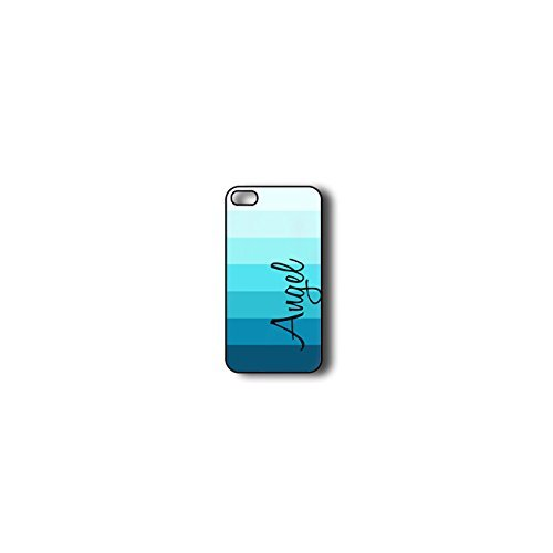 Krezy Case Monogram iphone 4 Case, Colorful stripes Pattern Monogram iphone 4 Case, Monogram iphone 4 Case, iphone...