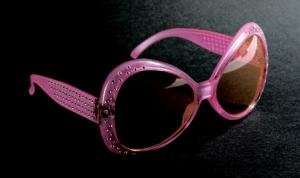 PINK DIAMANTE SHARPAY/HEN PARTY - Diamante Glasses