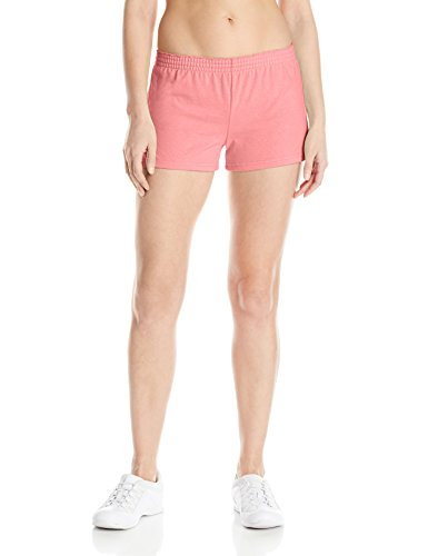 Pink Soffe Shorts (Soffe Women's Jrs New Short, Strawberry Pink, X-Small)