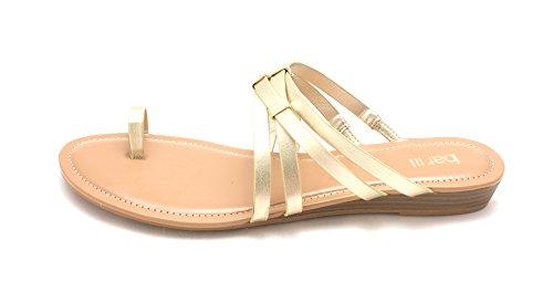 Womens Vanitap Slide Platino III Toe Open Bar Sandals Casual 5TzZqwx