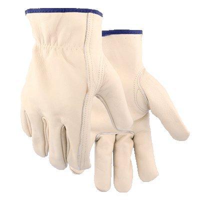 Golden Stag Cowhide Driver Unlined Work Glove - Medium