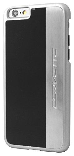 Corvette COHCP6MEBL gebürstetes Aluminium harte Schutzhülle für Apple iPhone 6/6S 11,9 cm (4,7 Zoll) schwarz/silber