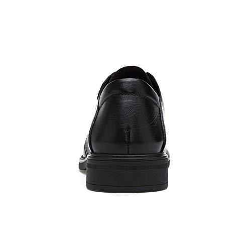 tonde Resistente Color Marrone punta 43 Dimensione Men's arrotondata Casual amp;Baby con classiche Oxford Nero classiche all'abrasione Business EU Scarpe Sunny 7fq40Z