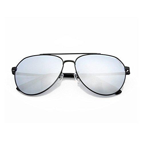 y conducir muje aire polarizadas conducir de La sol de gafas antideslumbrante al con completa sol es polarizadas para adecuada para sol montura para de de luz Gafas Silver Gafas antivibratorias libre gafas 1wgqAvv