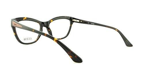 58a827ce773 Guess Women s Eyeglasses GU2463 GU 2463 TO Tortoise Full Rim Optical Frame  53mm - Buy Online in UAE.