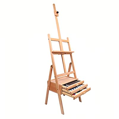 MXueei Easels ZfgG with Drawer Sketch Easel Wooden Drawing Board Adult Children Oil Painting Stand Bracket