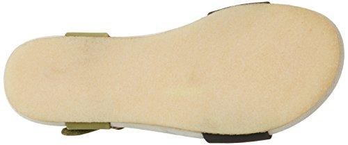 Clarks Women's Dusty Soul Wedge Heels Sandals, Green, 5.5 UK Green (Forest Green)