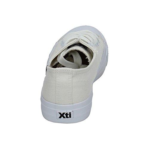 femme sport XTI de d'extérieur pour Chaussures Blanc qAA7wEX4