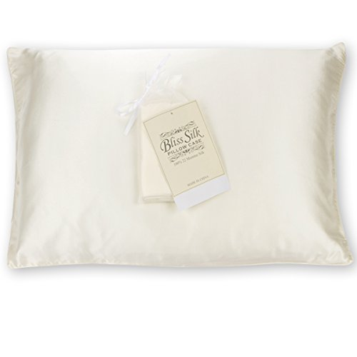 Bliss Silk Pillowcase for Hair and Skin 100% Pure 22 Momme S