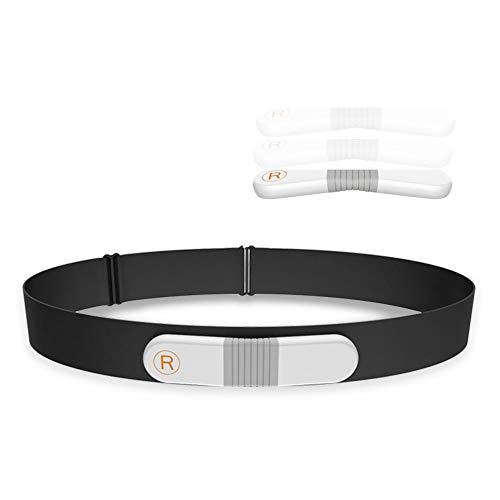 ViATOM Hartslagborstriem, Hartslagmeter met Bluetooth en ANT+, waterdichte ECG-monitor Polsriem voor Beweging met Alarm