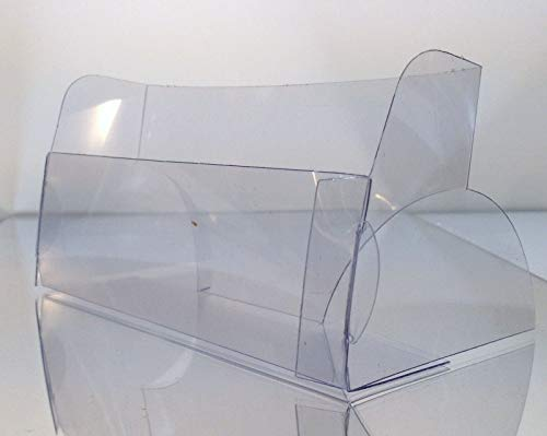 Acrylic display stand 12 Clear Economy Postcard Tabletop Display Holder Stand lot Holds 6 w x 4 h
