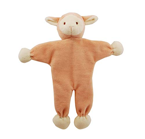 Inch Pink Lamb Stuffless Crinkle Paper Dog Toy ()