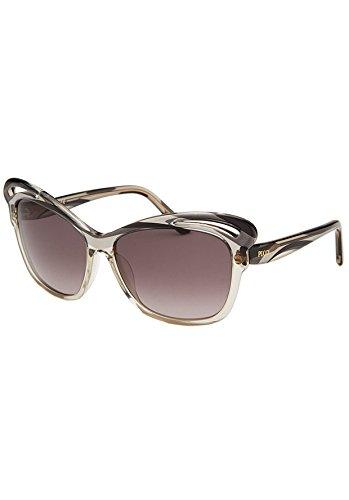 Emilio Pucci EP712S-029-58 Women's Butterfly Granite and Black - Pucci Sunglasses
