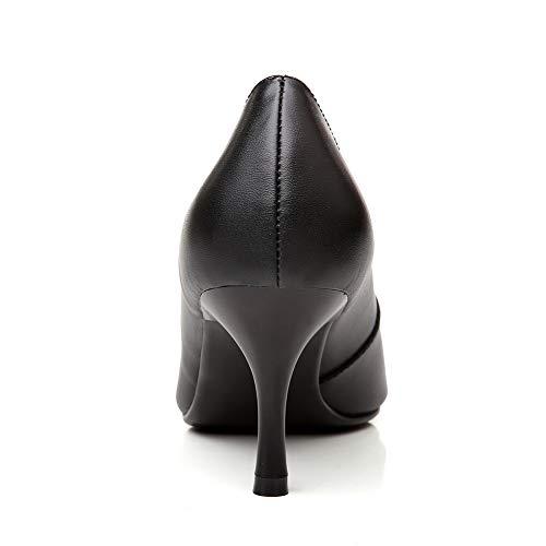 Femme EU 36 Noir Noir Sandales 5 Compensées 1TO9 MMS06411 Pgqt1