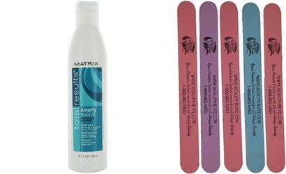Total Results Amplify Shampoo Plus Bonus 5 Emery Boards