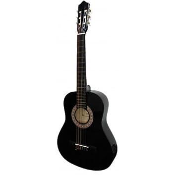 GUITARRA CLASICA-Rocio (10) Negro (4/4): Amazon.es: Instrumentos musicales