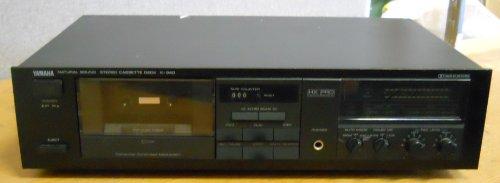 Yamaha K-340 Natural Sound Stereo Cassette Deck ()