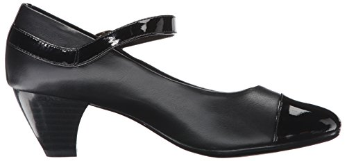 Women's Puppies Geena Patent Black Vitello Hush Dress Pump by Black Soft Style S4xTItt