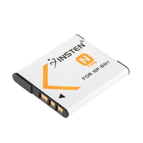 Insten Li-ion Battery Compatible With Sony NP-BN1 (Av Cord For Cell)