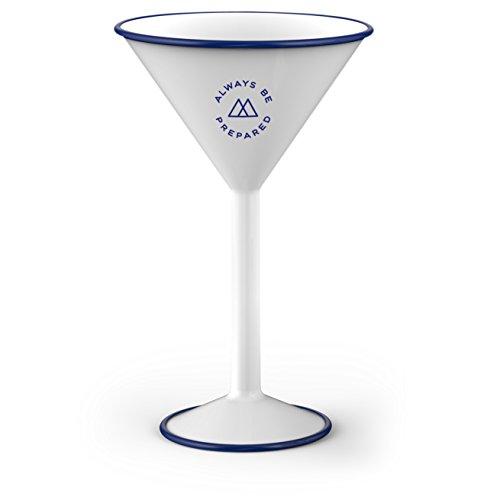 steel martini glasses - 3