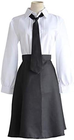 ZY Camisa Blanca Grupo Corto Negro Disfraz De Halloween Disfraz De Carnaval Conjunto Completo,Full Set-S: Amazon.es: Hogar