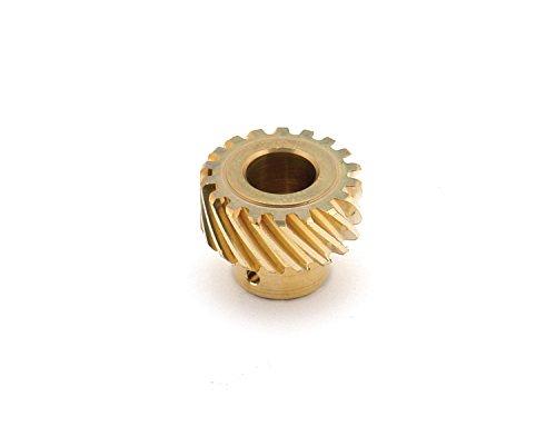 Mallory 29435 Distributor Gear (Bronze, Ford, 2.3L, LH)