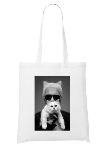 Pussycat Karl who Bag White who Karl C8q7t