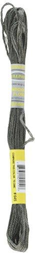Sullivans Six Strand Embroidery Cotton 8.7 Yards-Very Dark Beaver Grey 12 per Box