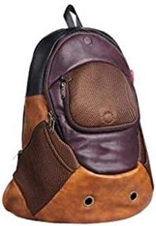 キャットバッグペットバッグペットケージポータブルバッグショルダーポータブルドッグバッグスペースバッグ本パッケージング猫用品 (Color : B)