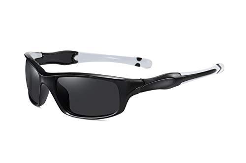 SKILEC Gepolariseerde Sport Zonnebril len voor Mannen Vrouwen – Fietsbril TR90 Frame voor het Rijden MTB Vissersbril…